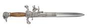 Flintlock Dagger Pistol Wood Grips