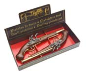 English Flintlock Pistol Dueling Boxed Set