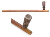 Indian Wood Peace Pipe