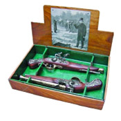 British Dueling Flintlock Boxed Set