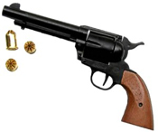 1873 Peacemaker 9MM/380 Blank Gun Black-Wood