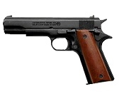 Bruni 1911 Replica Blank Firing Gun 8mm Black-Wood