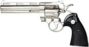 ".357 Police Magnum 6"" Barrel Replica-Nickel"