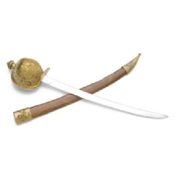 Pirate Cutlass Letter Opener - with Scabbard