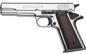 1911 Bruni Blank Gun Replica - Nickel