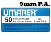 9MM PA Blanks, 50 Pack