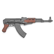 Replica Russian AK-47 Assault Rifle with Folding Stock - Non Firing
