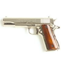 M1911 Government Semi Automatic Nickel Finish