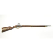 French Model 1807 Flintlock Rifle Non Firing