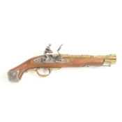 English 18th Century Blunderbuss Non Firing Replica Gun - Brass