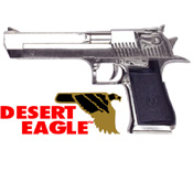 Replica Desert Eagle® Combat .50 Non Firing Gun Chrome