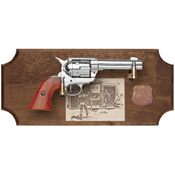 Wyatt Earp Deluxe Framed Set Dark Wood