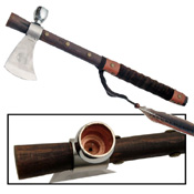 Replica Colonial Tomahawk Peace Pipe