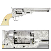 CA Classics M1851 Navy Revolver Nickel Finish