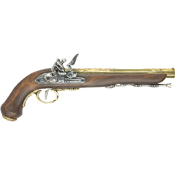 French Dueling Pistol Brass