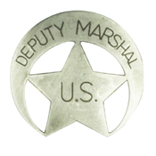 United States Deputy Marshal Badge
