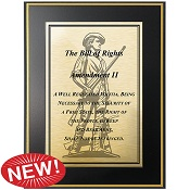 Second Amendment Plaque