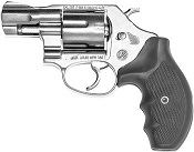 .38 Snub Nose 2 Inch Revolver 9mm/380 Blank Firing Gun-Nickel