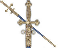 Replica Masonic Ceremonial Sword