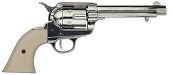 1873 Replica Peacemaker Non Firing, Nickel with Ivory Grips