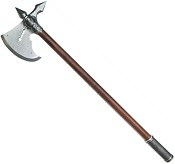 15TH CENTURY FRENCH BATTLE AXE GRAYFINISH