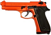 Beretta 92F-8MM Blank Firing Gun-Orange