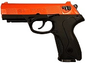 Beretta P4 Storm 8MM Blank Firing Gun-Orange Black
