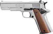 Kimar 1911 Replica Blank Firing Gun 8mm Nickel