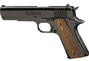 Kimar 1911 Replica Blank Firing Gun 8mm Black, Checkered Grips