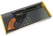 Western Peacemaker Pistol-Replica, Display Set-Black