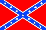 CW Confederate Stars & Bars Flag