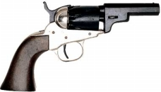 1849 Pocket Revolver Silver/Black