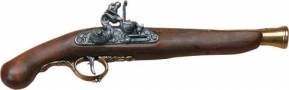 German Early 18th Centruy Flintlock Non-Firing Replica Gun-Brass