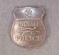 Replica Indian Police Badge
