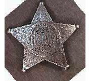 Lincoln Co. Sheriff- Pat Garrett badge