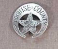 Deluxe Sheriff Cochise County Badge.