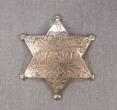 Deluxe Replica Western Badge.