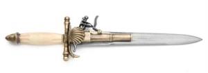 Elegant French Dagger/Pistol.