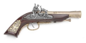 German Early Flintlock Pistol
