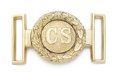 Confederate Civil War Bras Buckle