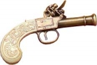 Ladies' Flintlock Pistol.