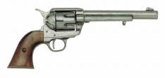 Cavalry Model Antique Gray Finish Pistol