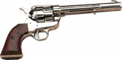Cavalry Model Nickel Finish Pistol