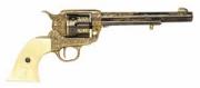 Western Cavalry Gold Engraved Pistol