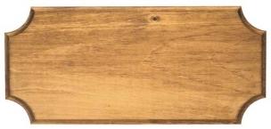 Large Stained Pine Pistol/Dagger Frame
