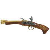 "Left-Handed ""Austrian"" Flintlock Brass Finish"