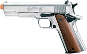 Kimar 1911 Replica Blank Firing Gun 8mm Black-Wood