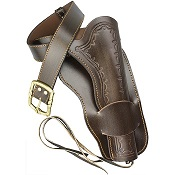 Leather Western Single Holster